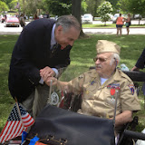 Memorial Day Parade and Dedication; New Castle