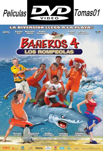 Bañeros 4: Los Rompeolas (2014) DVDRip