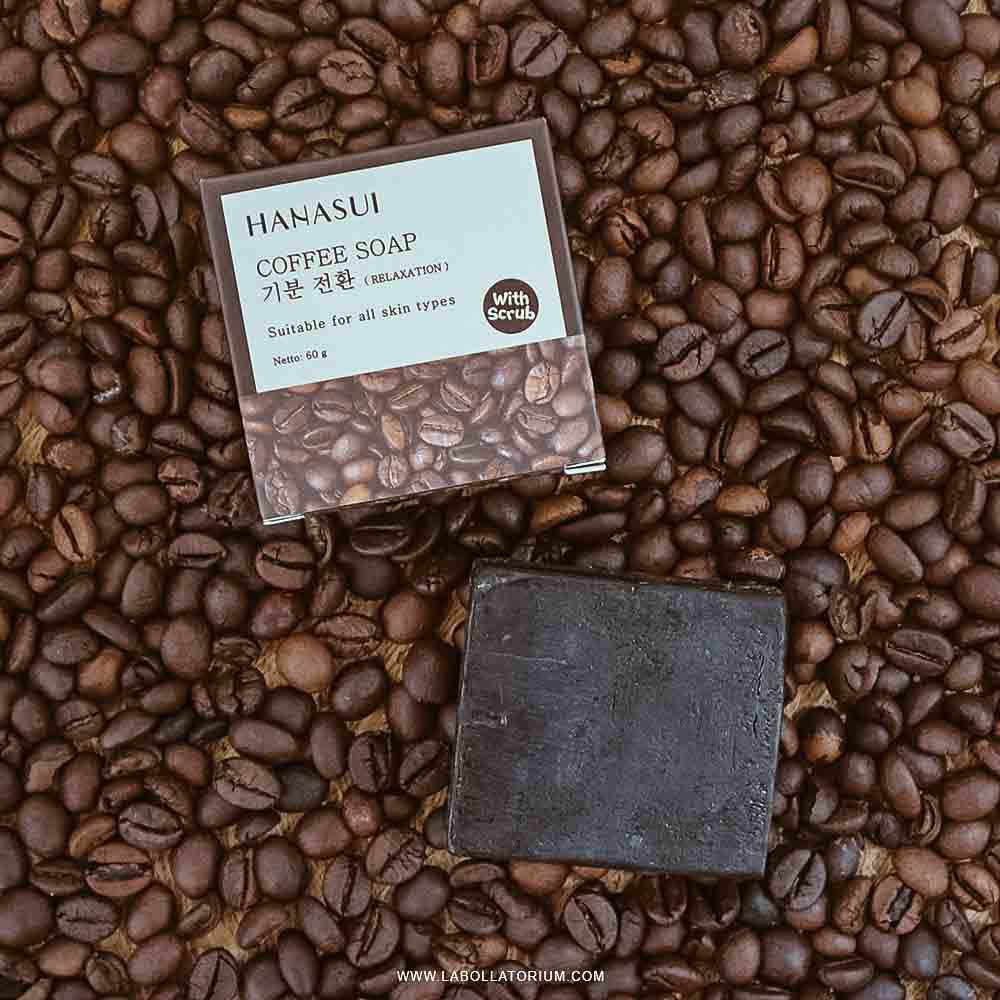 Review Hanasui Body Bar Soap - Sabun Batang Varian Kopi