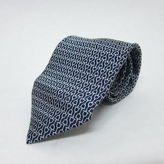 Hermès Heavy Silk Horse Bit Tie