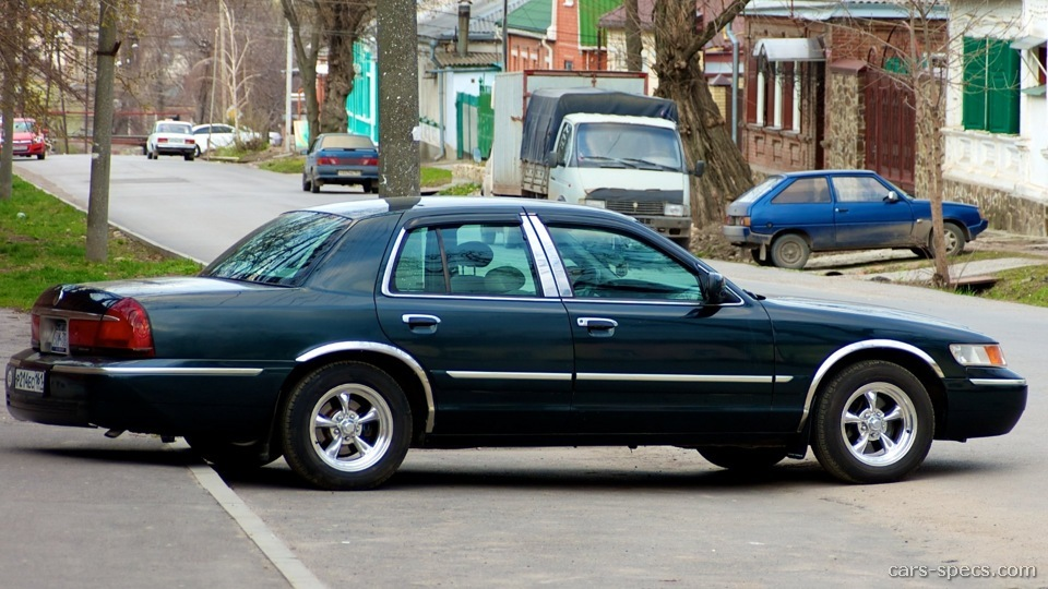 2002 Mercury Grand Marquis Sedan Specifications, Pictures ...