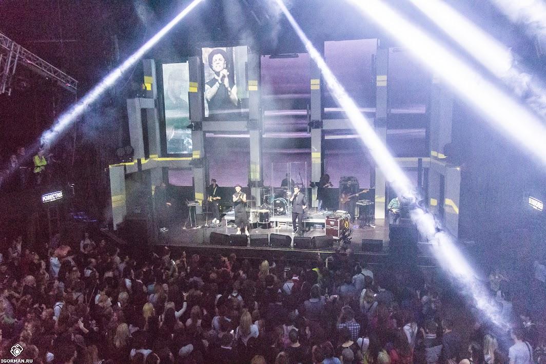 Концерт группы Градусы на московской площадке Известия Hall, 30.04.2015