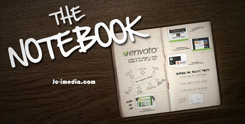 VideoHive The Notebook