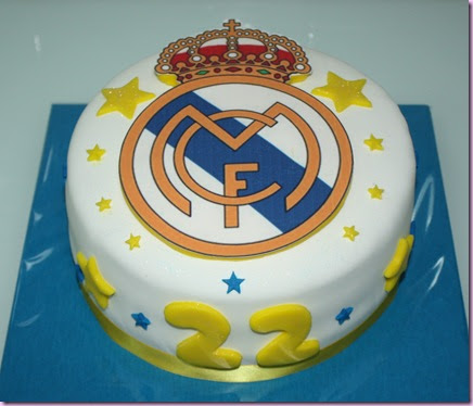 Tarta y Galletas Real Madrid