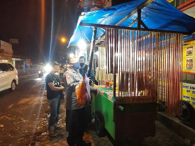 Polres Blora melarang Pedagang Kembang Api Jual Petasan