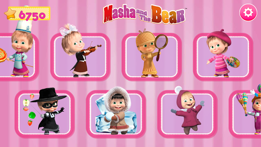 Masha and the Bear. Games & Activities 5.2 screenshots 9