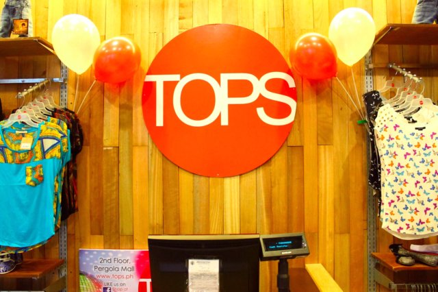 TOPS: Now Open at Pergola Mall, BF Homes!