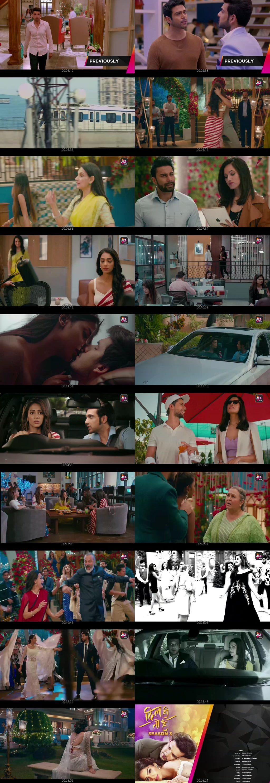 Screenshots Of Hindi Show Dil Hi Toh Hai Season 01 2020 Complete - All Episodes 300MB 720P HEVC HD