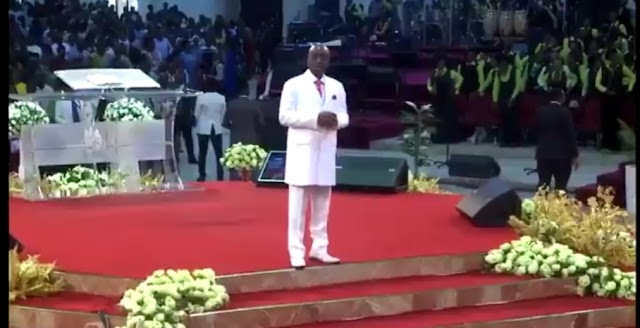 Video: Bishop Oyedepo just spoke in support of the on going #ENDSARS