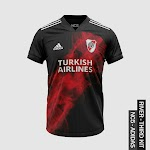 Bocoran Jersey Adidas River Plate Ketiga Musim 2020/2021