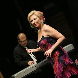 Pilar Boyero y Pedro Monty