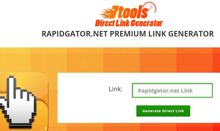 Rapidgator.net Premium Direct Link Generator
