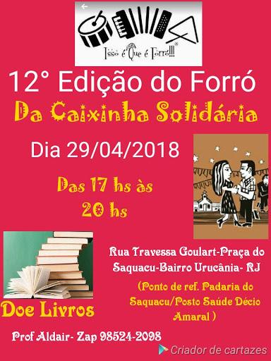 12a Edição do Forró da Caixinha de Solidária