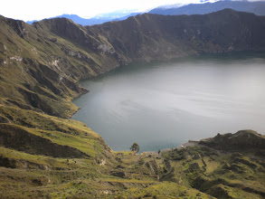 Photo: Lake Quilotoa