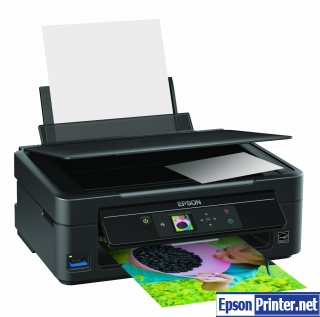 How to reset Epson SX230 printer