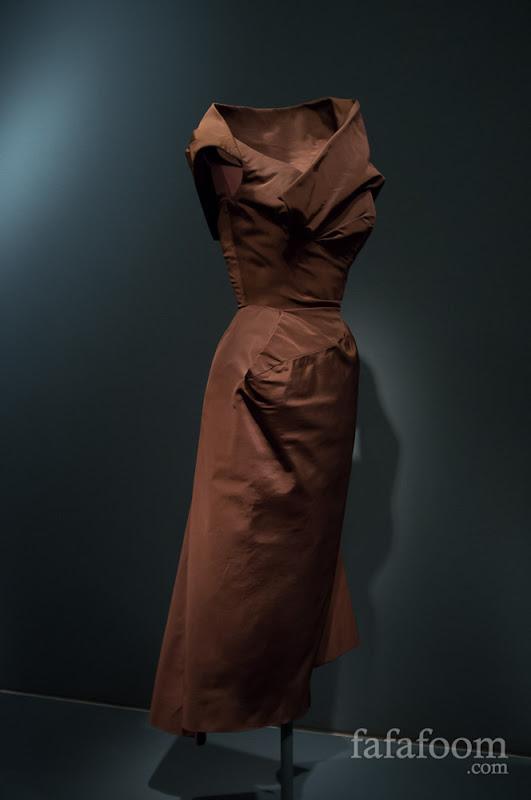"Charles James, ""Spiral"" dress, 1950."