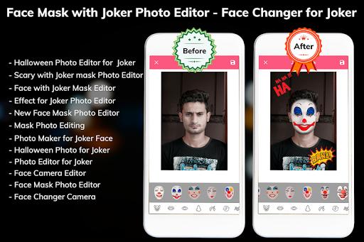 Download Photo Editor for Joker - Mask Face Changer App 1.2 1