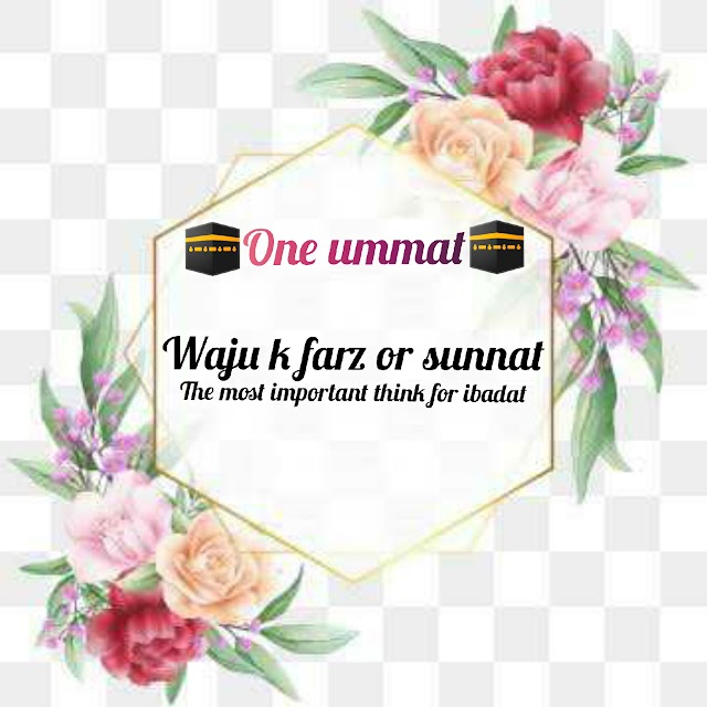 wuzu ke farz or sunnat
