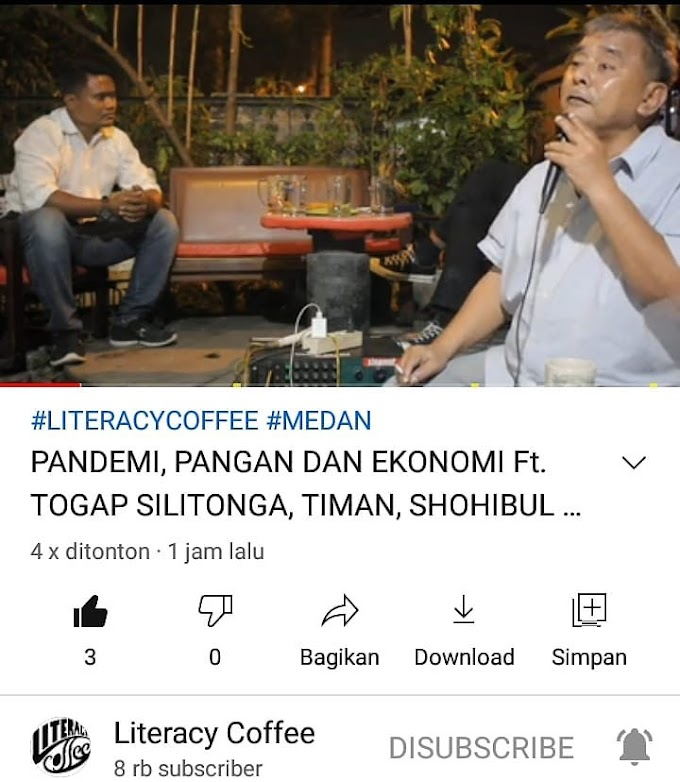 KANAL YOUTUBE LITERACY COFFEE