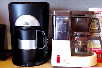 BanCa野田店:コーヒー器具セール:コーヒーメーカー(カリタ&メリタ)