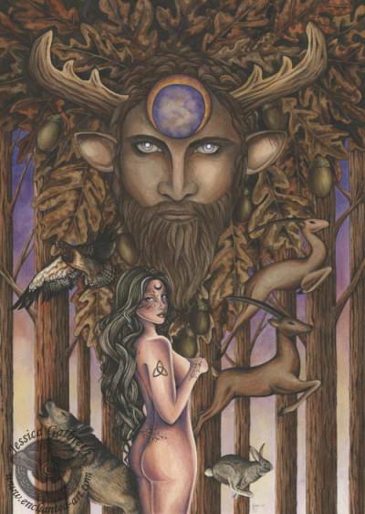 Jg Cernunnos, Celtic And Druids