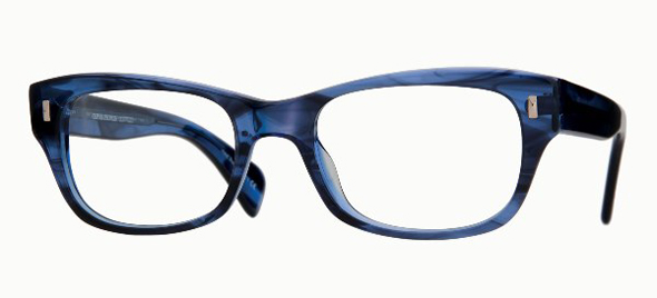 Oliver Poeples wacks new eyewear spring 2012