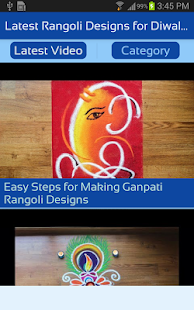 Latest Rangoli Designs for Diwali - New 2017 Video - náhled