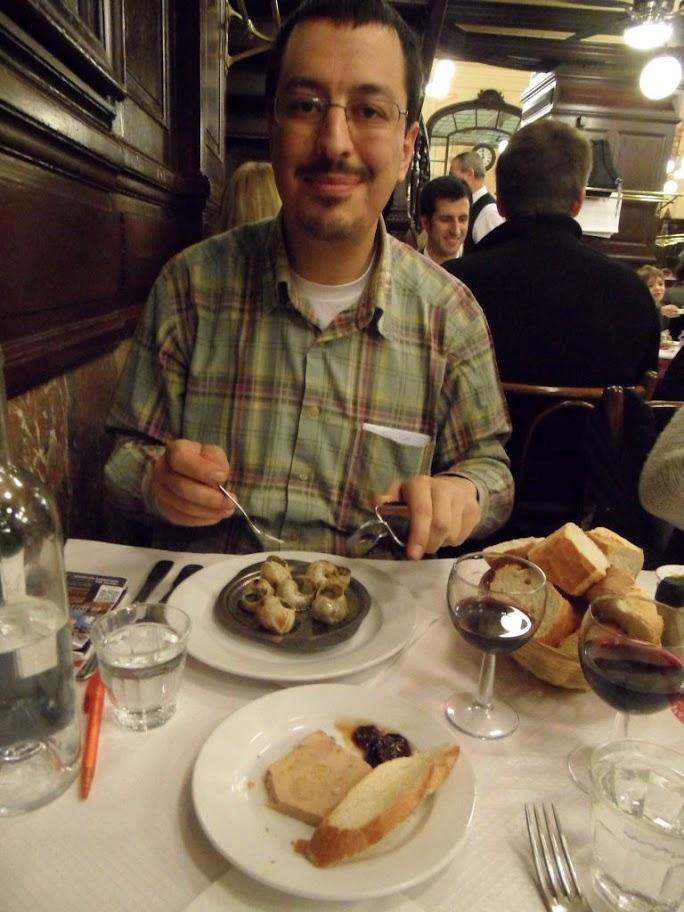 Bouillon Chartier restoranda salyangoz