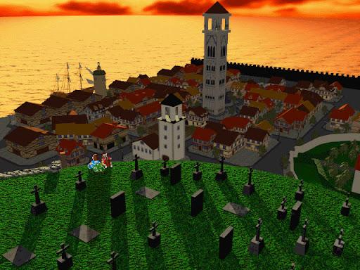 神奇传说之时空道标 截图 城镇鸟瞰