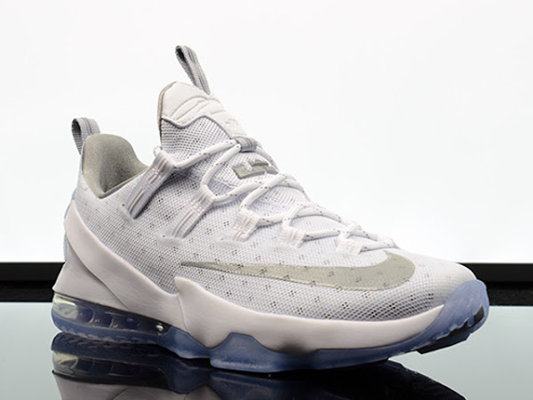 Available Now Nike LeBron 13 Low White amp Silver