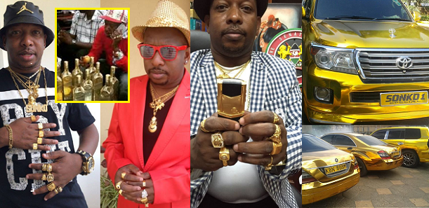 Meet Millionaire Kenyan Governor, Mike Sonko Who Has Gold Cars, Uses 24 Karat Gold Phones, And Only Drinks Gold Wine (Photos)