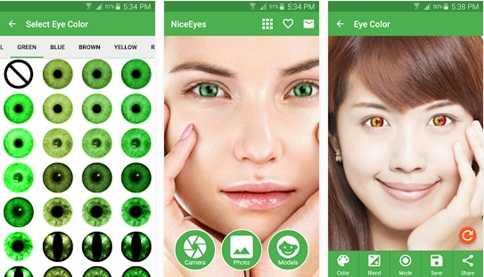 biar foto terlihat menyerupai memakai lensa atau dampak mata sharingan uchiha di Naruto bi Cara Merubah Warna Mata (Sharingan) di Android