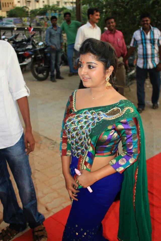 Tv Serial Actress Usha Hot Navel Show - Earlygood-2395