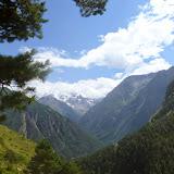 Vallée caucasienne près d'Elbruz (Kabardino-Balkarie), 11 août 2014. Photo : J. Marquet