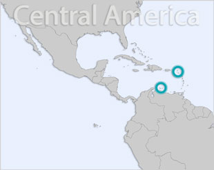 Netherlands Antilles location map
