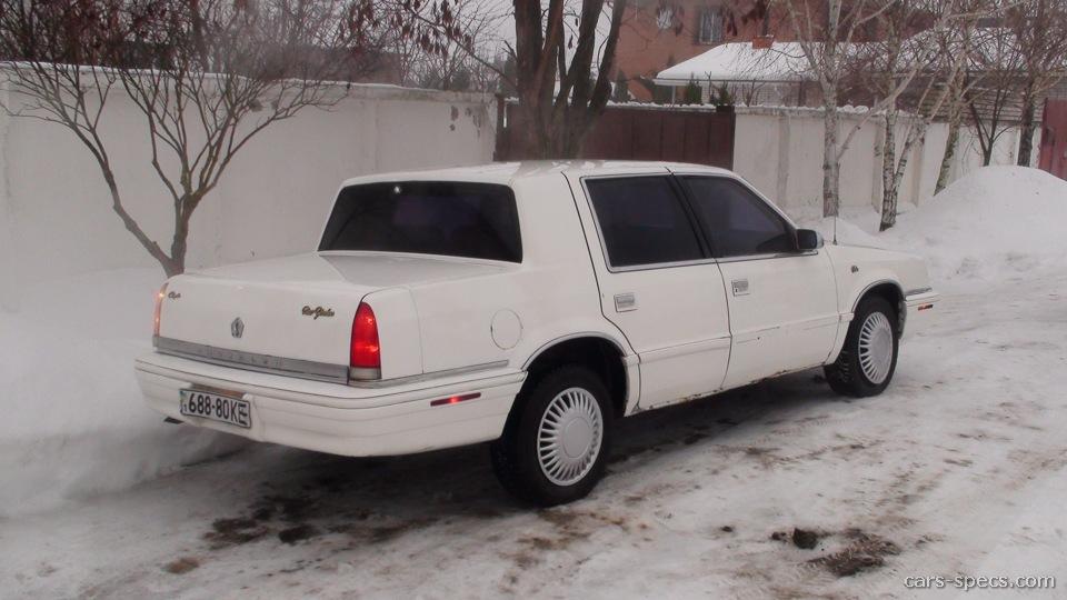 1991 chrysler new yorker sedan specifications pictures for 1991 chrysler new yorker salon