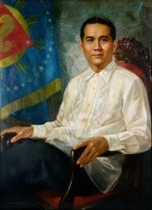 Diosdado Macapagal painting