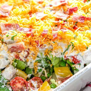 Ranch 7 Layer Salad.