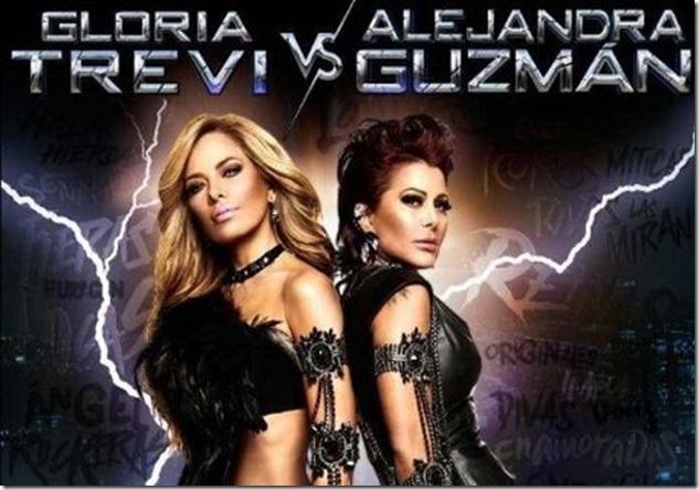 Concierto de Gloria Trevi y Alejandra Guzmán en Arena Ciudad de México 2017 boletos primera fila hasta adelante
