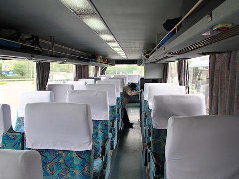 西鉄高速バス「桜島号」 9134 車内