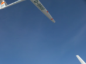 Photo: Fliegen und Fotografieren... naja ... Abstand der Flugzeuge ca 3 Meter....