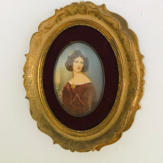 Large Portrait Miniature #1