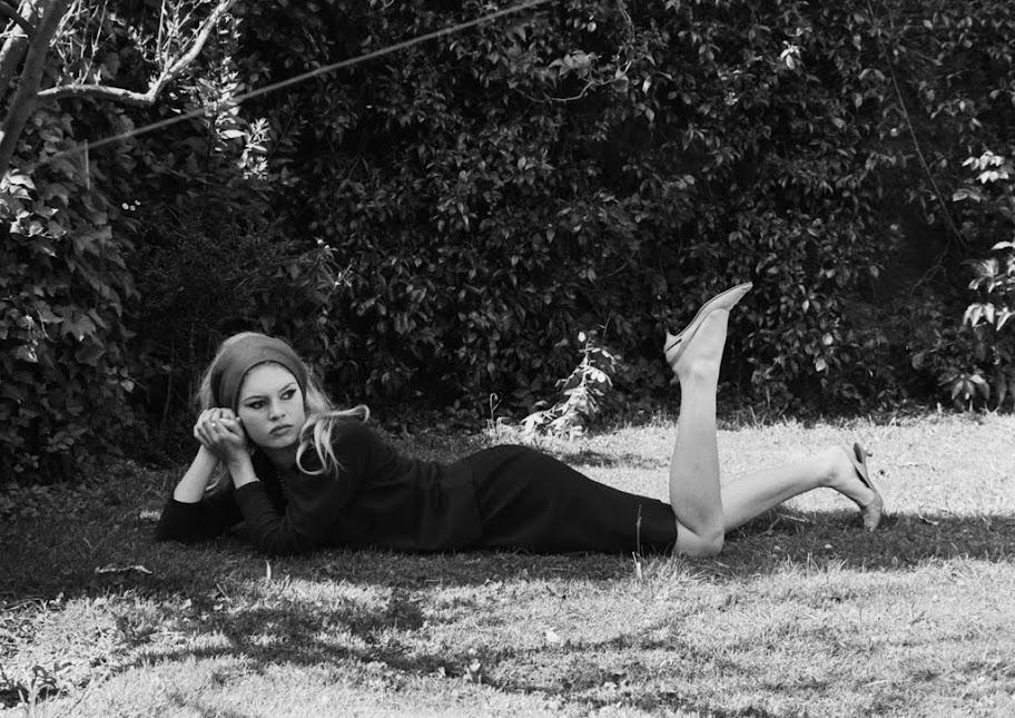 CANVAS Brigitte Bardot Art Print POSTER
