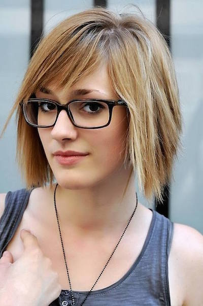 2018 Short Hair With Bangs For Women's 2