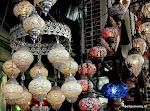 Arabische lampjes bij Kapalicarsi - Grote Bazaar