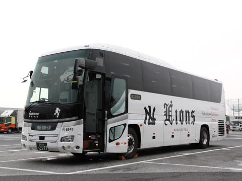 西鉄高速バス「ライオンズエクスプレス」 8545 海老名SAにて その4