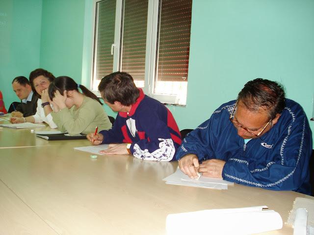 actividades en aula del grupo de ocio
