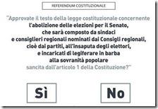 Respinto ricorso di Onida sul quesito referendario