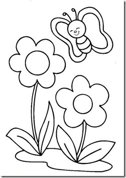 11flores primavera colorear  (54)