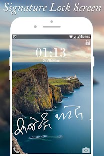 Signature Screen Lock - náhled
